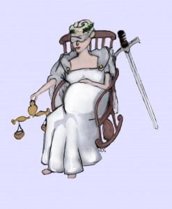 Pregnant Justice